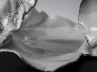 cm 40x50 céramique,estampe,miroir